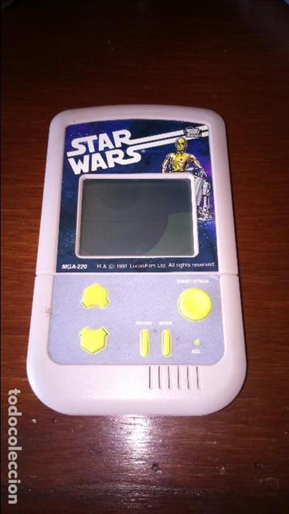 STAR WARS CONSOLA PORTÁTIL MGA 220 MICRO GAMES USA (Juguetes - Videojuegos y Consolas - Otros descatalogados)
