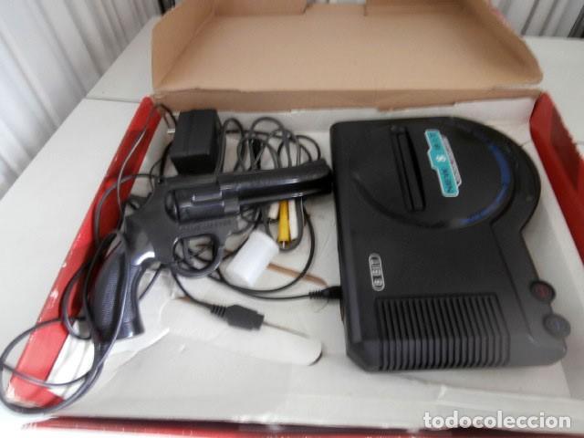 KIT VIDEOJUEGO GAME SYSTEM Y PISTOLA WEAPON DE ARCADE (Juguetes - Videojuegos y Consolas - Otros descatalogados)