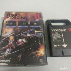 Jeux Vidéo et Consoles: PHILIPS VIDEOPAC 11 COSMIC CONFLICT. Lote 126018131