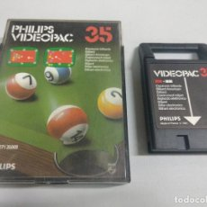 Videojuegos y Consolas: PHILIPS VIDEOPAC 35 ELECTRONIC BILLARDS. Lote 126018983