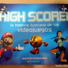 Videojuegos y Consolas: LIBRO HIGH SCORE LA HISTORIA ILUSTRADA DE LOS VIDEOJUEGOS RUSEL DEMARIA; JOHNNY L. WILSON , 2002 . Lote 126416583