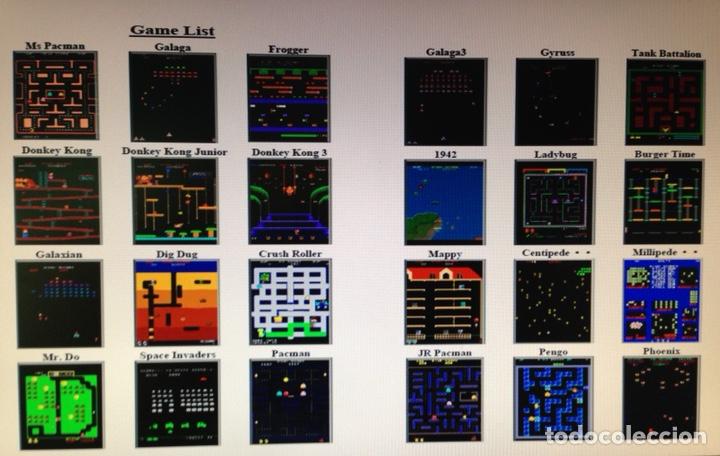 Videojuegos y Consolas: Maquina recreativa arcade con 60 videojuegos clásicos - Foto 4 - 127257167