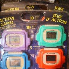 Videojuegos y Consolas: BLISTER RETRO, JUEGO MAQUINITA CONSOLA AÑOS 80 O 90 ELECTRÓNICO 10 JUEGOS EN 1 INTERCAMBIABLES. Lote 127633323