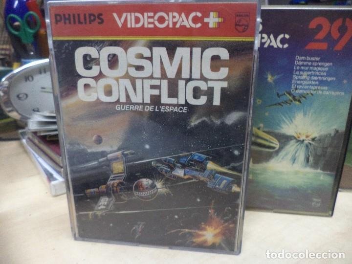 Videojuegos y Consolas: Lote de 4 videojuegos Philips Videopac 1980. - Foto 2 - 127672627