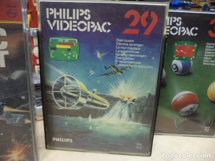 Videojuegos y Consolas: Lote de 4 videojuegos Philips Videopac 1980. - Foto 3 - 127672627