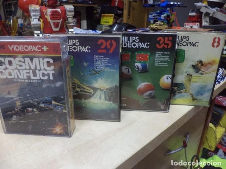 Videojuegos y Consolas: Lote de 4 videojuegos Philips Videopac 1980. - Foto 6 - 127672627