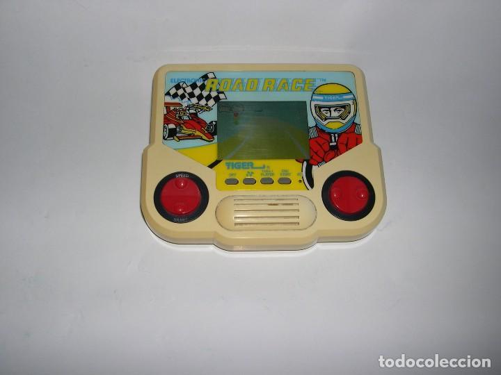 CONSOLA ROAD RACE TIGER (Juguetes - Videojuegos y Consolas - Otros descatalogados)