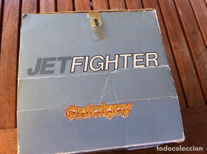 Videojuegos y Consolas: Joystick Jet Fighter Quickjoy. SV-126 caja original. Compatible con Atari, Commodore y CPC Computers - Foto 5 - 128116131