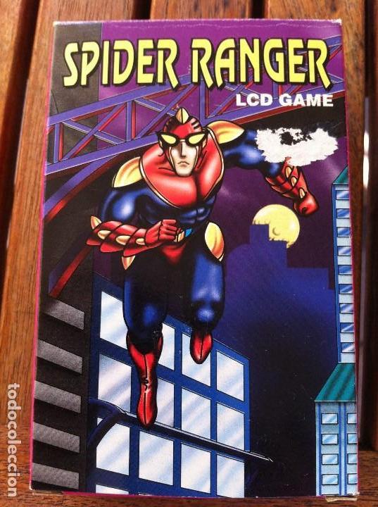 Videojuegos y Consolas: Consola Spider Ranger LCD Game. Caja original. Como nueva. - Foto 4 - 128116367