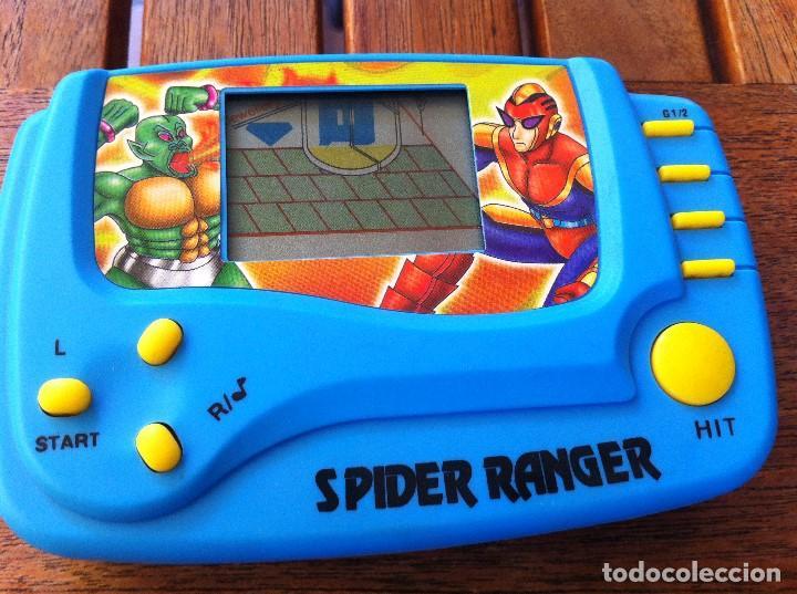 Videojuegos y Consolas: Consola Spider Ranger LCD Game. Caja original. Como nueva. - Foto 3 - 128116367