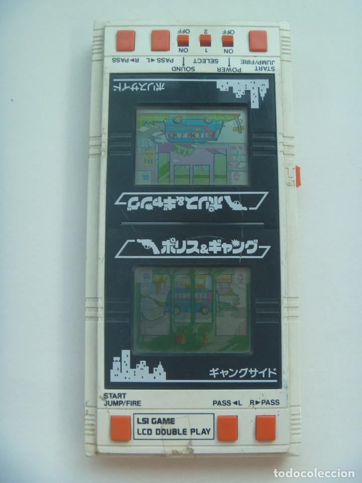 Videojuegos y Consolas: JUEGO ANTIGUO LSI GAME LCD DOUBLE PLAY , DE BANDAI , MADE IN JAPAN . - Foto 1 - 128307415