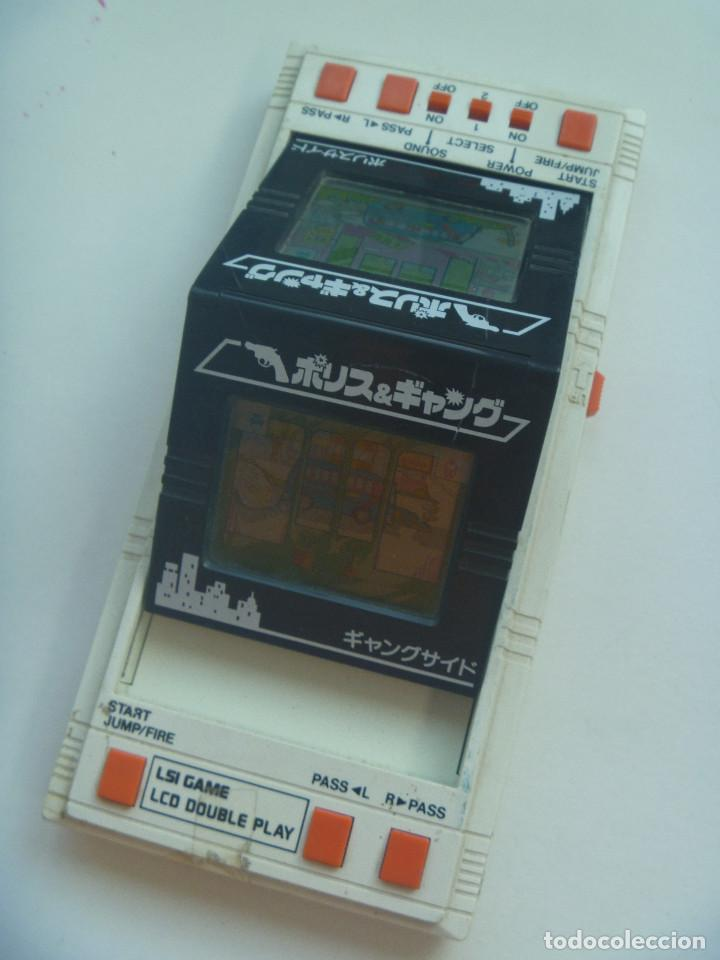 Videojuegos y Consolas: JUEGO ANTIGUO LSI GAME LCD DOUBLE PLAY , DE BANDAI , MADE IN JAPAN . - Foto 2 - 128307415