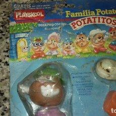 Videojuegos y Consolas: ANTIGUO JUEGO FAMILIA POTATO.POTATITOS.CAJA ESTROPEADA. Lote 128402819