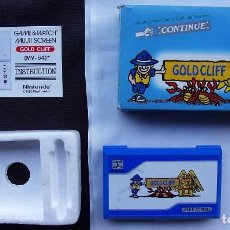 Videojuegos y Consolas: NINTENDO GAME & WATCH. GOLD CLIFF. AÑO: 1988. TODO 100 % ORIGINAL. FUNCIONA PERFECTA. BUEN ESTADO.. Lote 128405431