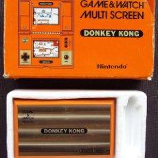Videojuegos y Consolas: NINTENDO GAME & WATCH. MULTI SCREEN. DONKEY KONG. AÑO: 1982. FUNCIONA PERFECTA. BUEN ESTADO.. Lote 128482527