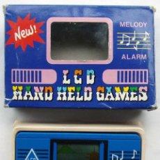 Videojuegos y Consolas: MAQUINITA. LCD. HAND HELP GAMES. EN SU CAJA ORIGINAL. FUNCIONA PERFECTAMENTE. AÑOS 80.. Lote 128635751