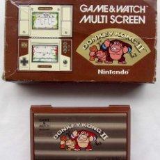 Videojuegos y Consolas: NINTENDO GAME & WATCH. MULTI SCREEN. DONKEY KONG II. AÑO: 1983. FUNCIONA PERFECTA. BUEN ESTADO.. Lote 128643935
