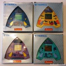 Videojuegos y Consolas: LOTE 4 GAME & WATCH TRONICA TORPEDO + BOAT + UFO + PIRATE ALIEN NUEVOS SIN USAR. Lote 129323691