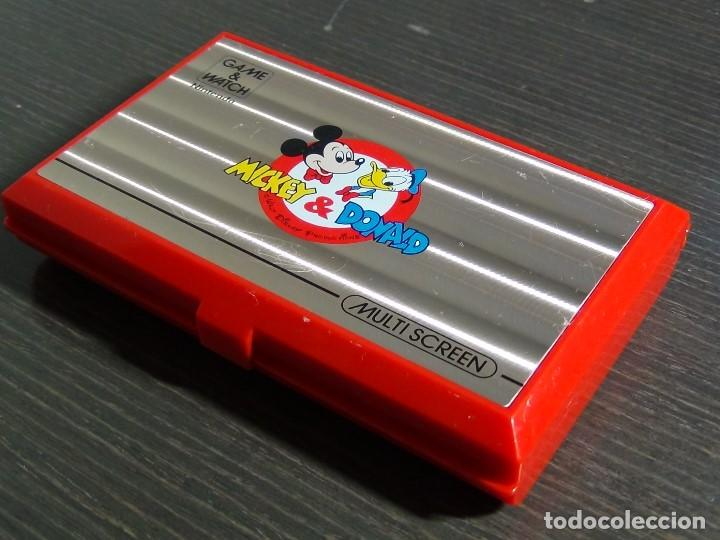 Videojuegos y Consolas: Nintendo Game & Watch Mickey & Donald Modelo DM-53 año 1982 - VER VIDEO!!!! - Foto 3 - 129473995