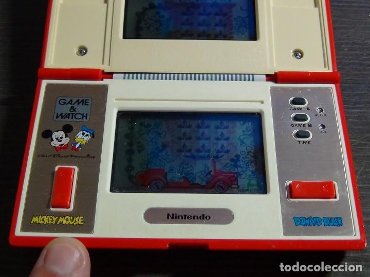 Videojuegos y Consolas: Nintendo Game & Watch Mickey & Donald Modelo DM-53 año 1982 - VER VIDEO!!!! - Foto 10 - 129473995