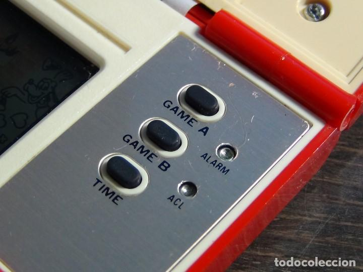 Videojuegos y Consolas: Nintendo Game & Watch Mickey & Donald Modelo DM-53 año 1982 - VER VIDEO!!!! - Foto 12 - 129473995