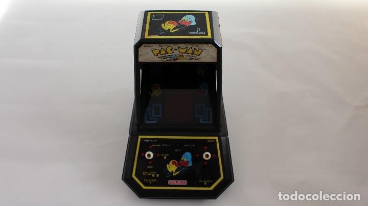 Pleasing Consola Pacman Tabletop De Coleco By Midway Tipo Game Watch Nintendo Atari Bandai Casio Download Free Architecture Designs Itiscsunscenecom