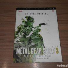 Videojuegos y Consolas: METAL GEAR SOLID 3 LA GUIA OFICIAL COMPLETA PIGGYBACK EN CASTELLANO PLAYSTATION 3. Lote 151662984