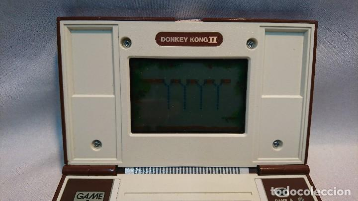 Videojuegos y Consolas: NINTENDO DONKEY KONG II, GAME&WATCH, MULTI SCREEN - Foto 3 - 129697991