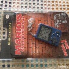 Videojuegos y Consolas: LLAVERO NINTENDO MINI CLASSICS MARIO CEMENT FACTORY NUEVO PRECINTADO KREATEN. Lote 129747003