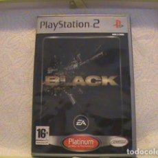 Videojuegos y Consolas: JUEGO BLACK PS2, PLATINUM LO MEJOR DE PS2. Lote 129808583
