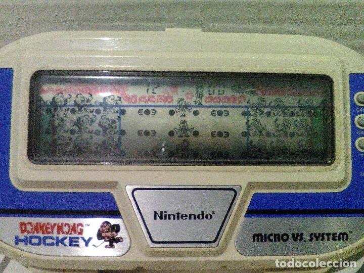 Videojuegos y Consolas: Donkey kong hockey micro vs. system game & watch nintendo - Foto 2 - 241110145