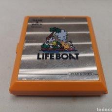Videojuegos y Consolas: NINTENDO GAME & WACTH. LIFE BOAT . LIFEBOAT MULTI SCREEN AÑO 1983, FUNCIONA CORRECTAMENTE. Lote 129101387