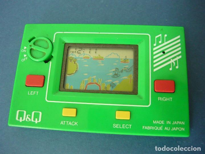 MAQUINITA Q&Q CARD GAME CLOCK MR.SURFING + INSTRUCCIONES ORIGINALES. FUNCIONA. RARA (Juguetes - Videojuegos y Consolas - Otros descatalogados)