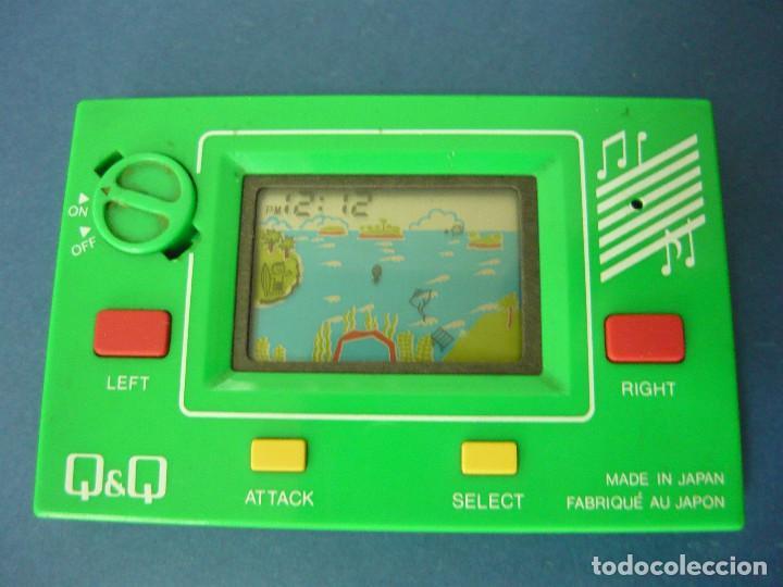 Videojuegos y Consolas: MAQUINITA Q&Q CARD GAME CLOCK MR.SURFING + INSTRUCCIONES ORIGINALES. FUNCIONA. RARA - Foto 4 - 130579510