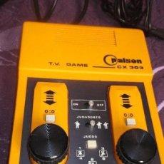 Videojuegos y Consolas: PALSON COLOR CX 340 - TV GAME - 2 JUGADORES - MADE IN SPAIN. Lote 130613378