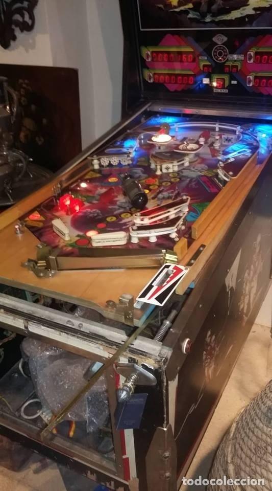 Videojuegos y Consolas: Pinball FAETON de Juegos Populares.PETACO Año fabricación 1985. 4 jugadores. 1 bola. 2 flippers - Foto 8 - 121041519