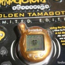 Videojuegos y Consolas: TAMAGOCHI BANDAI EN CAJA NUEVO VERSION 4 EDICION LIMITADA DORADO. Lote 130687999