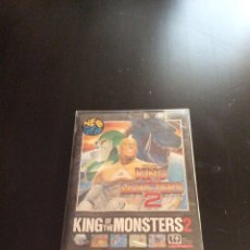 Videojuegos y Consolas: VIDEOJUEGO PARA NEO GEO AES: KING OF THE MONSTERS 2. Lote 130798716
