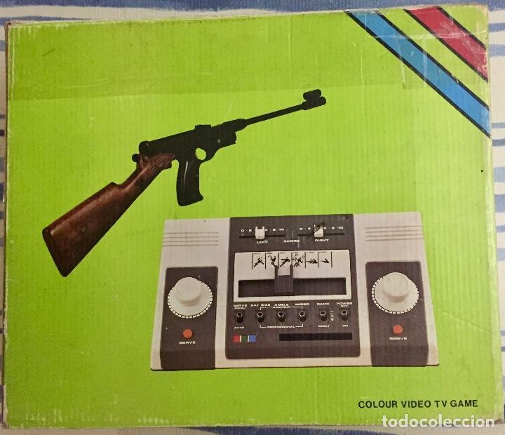 COLOUR VIDEO TV GAME. SOUNDIC TV SPORTS. AÑOS 70. (Juguetes - Videojuegos y Consolas - Otros descatalogados)
