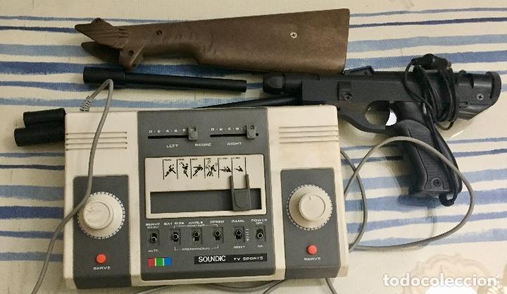 Videojuegos y Consolas: COLOUR VIDEO TV GAME. SOUNDIC TV SPORTS. AÑOS 70. - Foto 2 - 130882900