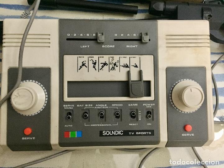 Videojuegos y Consolas: COLOUR VIDEO TV GAME. SOUNDIC TV SPORTS. AÑOS 70. - Foto 3 - 130882900
