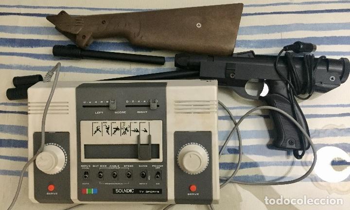 Videojuegos y Consolas: COLOUR VIDEO TV GAME. SOUNDIC TV SPORTS. AÑOS 70. - Foto 5 - 130882900