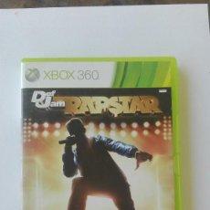 Videojuegos y Consolas: XBOX 360 DEF JAM RAPSTAR INGLES. Lote 131344494