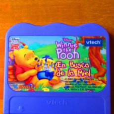 Videojuegos y Consolas: WINNIE POOH EN BUSCA DE LA MIEL (VTECH V.SMILE). Lote 133309990