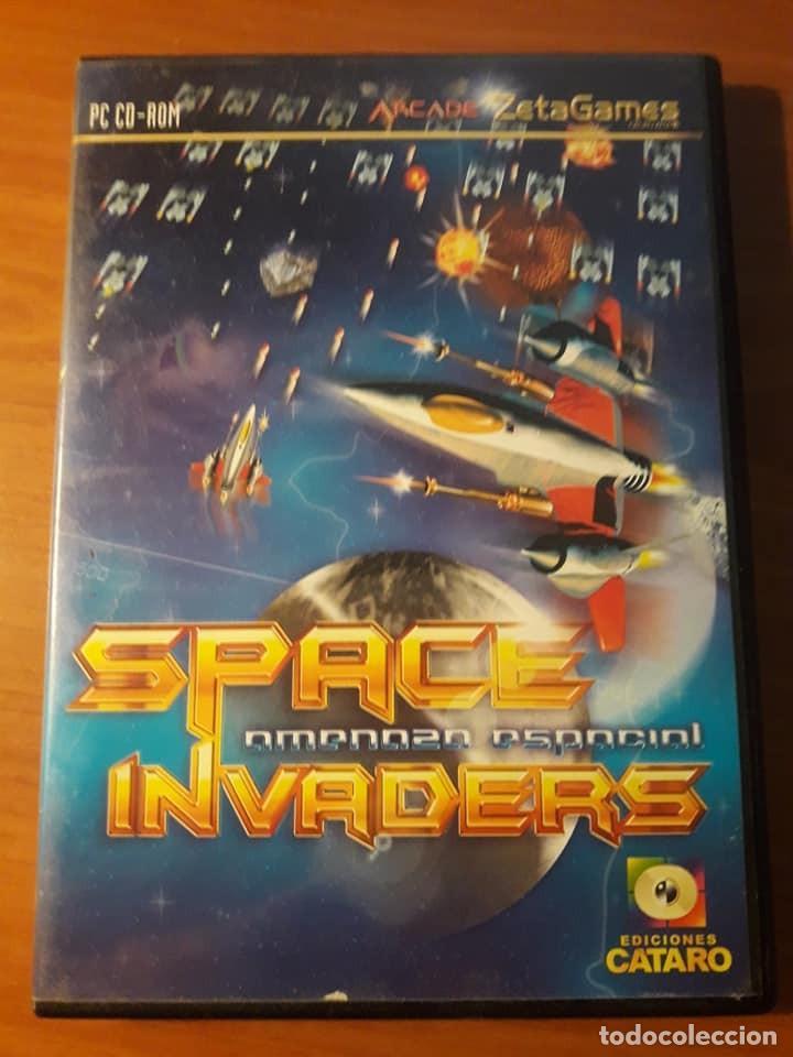 JUEGO PC SPACE INVADERS (Juguetes - Videojuegos y Consolas - Otros descatalogados)