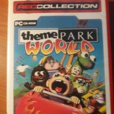 Videojogos e Consolas: JUEGO PC THEME PARK WORLD. Lote 145025016
