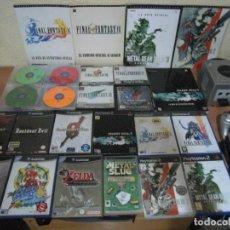 Videojuegos y Consolas: LOTE JUEGOS PSX,PS2,GAME CUBE,PSP, 20 DREAMON DREAMCAST + 5 GUIAS OFICIALES PS2 + GAME CUBE PLATEADA. Lote 133811582