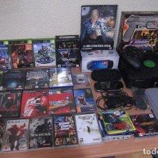 Videojuegos y Consolas: 19 JUEGOS - XBOX ,GAME CUBE, PS2 ,PSP ,-3 CONSOLAS PSX PSP XBOX MANDO CABLES GUIA PARASITE EVE 2 ETC. Lote 134221582