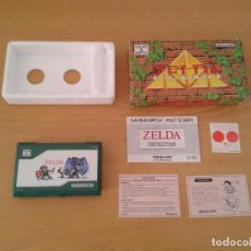 Videojuegos y Consolas: NINTENDO GAME&WATCH MULTISCREEN ZELDA ZL-65 COMPLETE IN BOX UNUSED MINT RARE+!! R8016. Lote 134550162