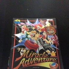 Videojuegos y Consolas: VIDEOJUEGO PARA NEO GEO AES MIRACLE ADVENTURE.. Lote 134862146